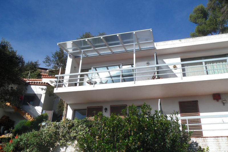 Terrassenüberdachung aus PC oder Glas von PCSdach
